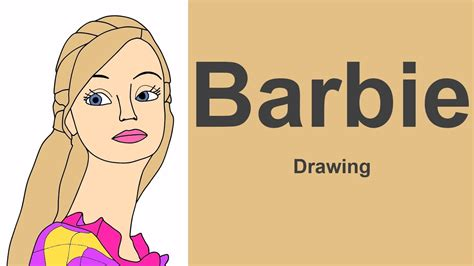 Lear To Draw Barbie As The Princess And