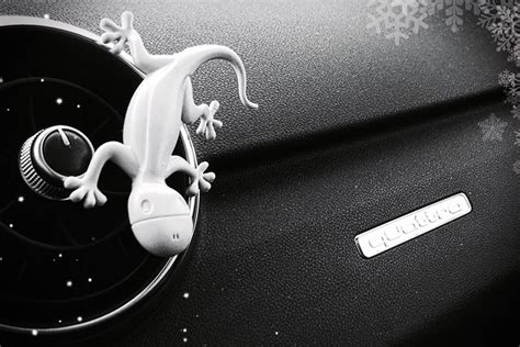 lizard air freshener audi discovers gecko fragrance sells it as car air