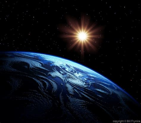 Picture Of Sun Shining On Earth - The Earth Images ...