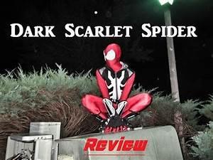 Dark Scarlet Spider/Evil Ben Reilly Cosplay review - YouTube