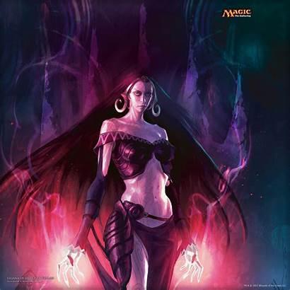 Magic Witch Dark Liliana Realms Wizards Championship