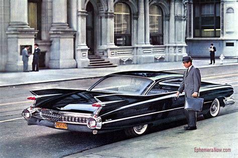 1959 Cadillac In Traffic