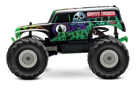 rc monster trucks grave digger devilishly good the traxxas 1 10 grave digger rtr rc