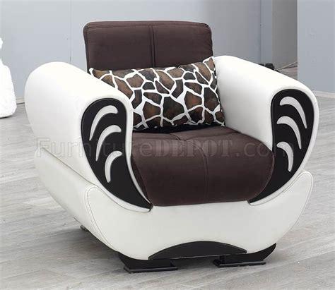 white vinyl sectional sofa brown fabric white vinyl modern convertible sofa bed w