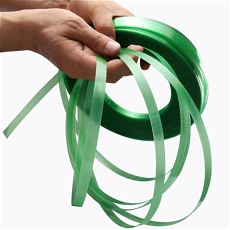 china hard plastic green pet strapping band factory suppliers  manufacturers opalus adhesive