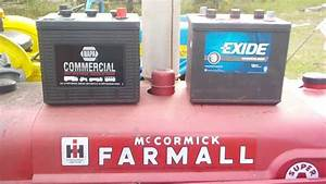 Farmall Super A Battery Replacement And Brand Comparison