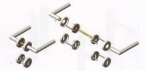 Demontáž dveřního kování