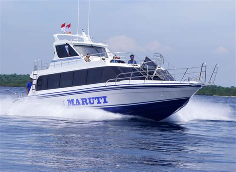 Fast Boat Of by Maruti Fast Boats The Lembongan Traveller