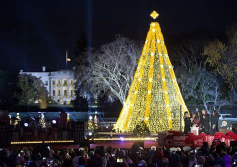 washington dc christmas lights road closures announced for christmas tree lighting wtop