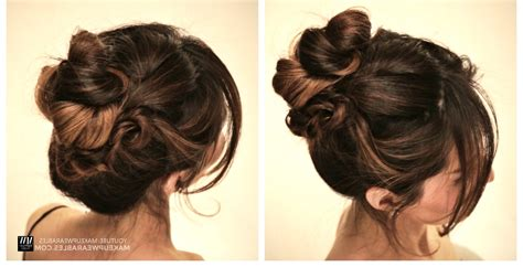inspirations  easy casual updos  long hair