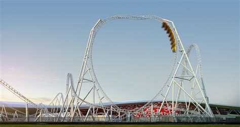 Here are the coasters that create a knot in the pit of your stomach. New coaster for Ferrari World - InterPark