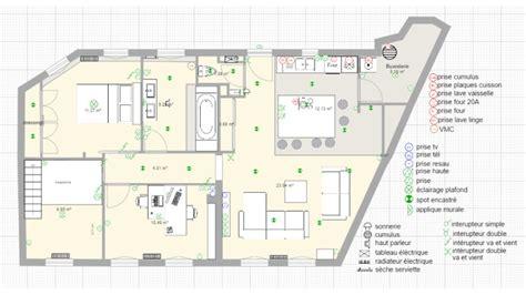 dessiner  plan de salon avec archifacile