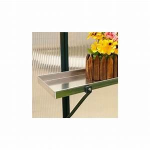 Etagere Pour Serre : etag re en acier galvanis pour serre de jardin ~ Premium-room.com Idées de Décoration