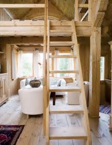 Tiny House Loft Stairs