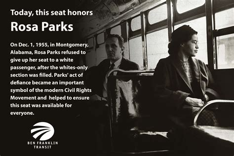 rosa parks day   started   bus rider alerts