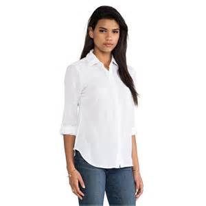 Collared Button Down Shirts Women