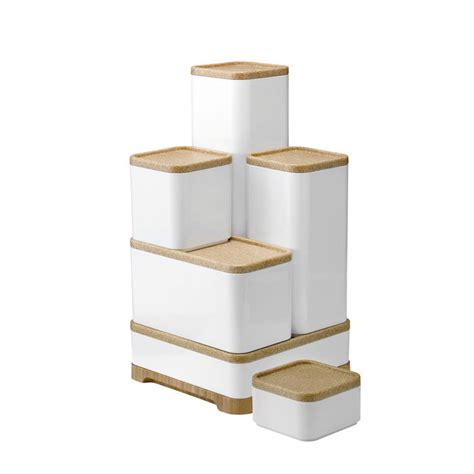 boite cuisine boîtes de stockage assorties pour la cuisine rig tig by