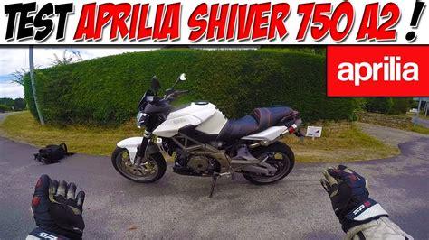 aprilia shiver 750 a2 moto vlog 92 test aprilia shiver 750 a2 alternative mt07