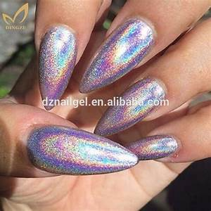 Ongles Effet Holographique
