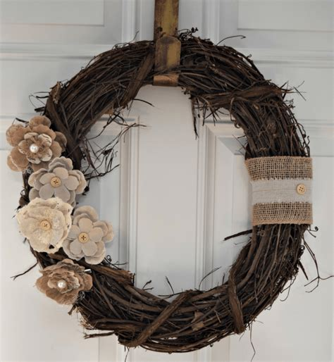 Small Kitchen Colour Ideas - 12 diy projects for fall themed wreaths 8 rustic floral wreath diy crafts ideas magazine