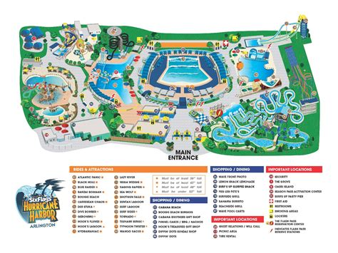 hurricane harbor arlington texas six flags hurricane harbor thrillz the ultimate theme
