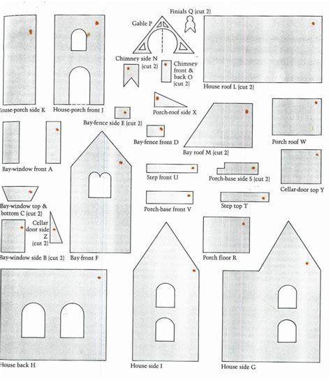 fancy gingerbread house templates gingerbread house pattern a gingerbread house paper patterns for children paper