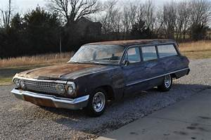 1963 Chevrolet Bel Air Station Wagon 250 6 Cylinder