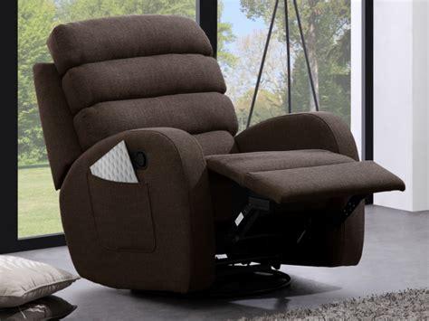 canapé et fauteuil relax canapé et fauteuil relax en tissu 2 coloris turda
