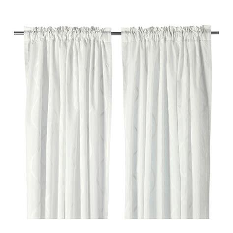 Rideaux Occultant Blanc Ikea by Hillmari Curtains 1 Pair Ikea