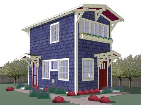 freedom tree design home 440 sq ft tiny backyard cottage plans