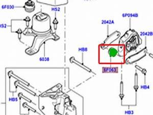 Land Rover Engine Mount Insulator Lr2 Range Rover Evoque