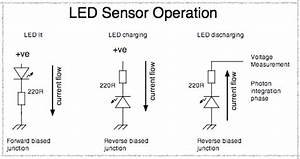 led sensing With led photo sensor