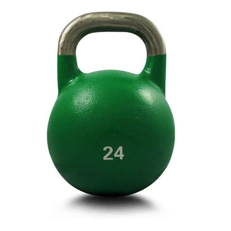 kettlebell 24kg competition gym weight grade steel kettle bell training cross tweet