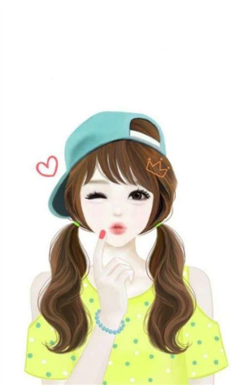 cute girl enekei lovely girl image anime art girl