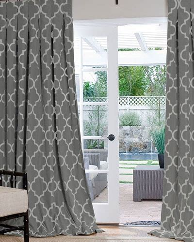 Drapes Geometric Pattern - best 25 geometric curtains ideas on neutral