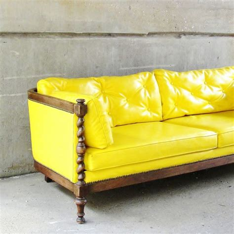 Yellow Leather Sofa And Loveseat by Best 25 Yellow Leather Sofas Ideas Only On
