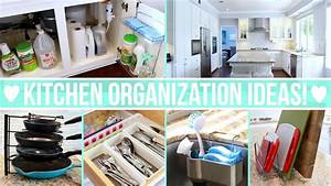 Kitchen organization ideas getting rid of clutter for Organizing free cluttered kitchen atorage ideas