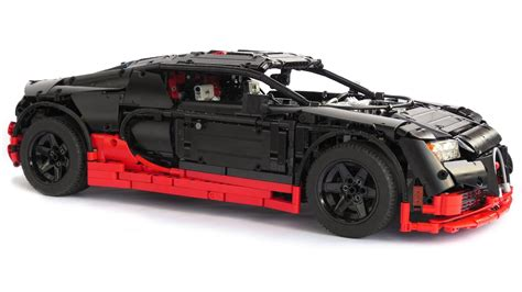 lego technic bugatti veyron super sport youtube