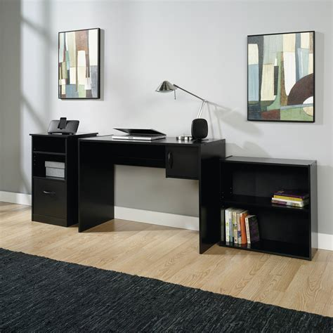 Desks Office Furniture Walmartcom by Mainstays L Shaped Desk With Hutch Finishes