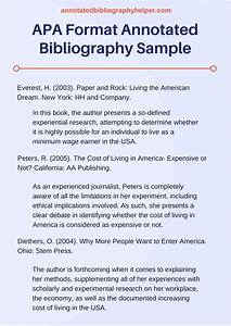 our apa format annotated bibliography services annotated With template for annotated bibliography apa format