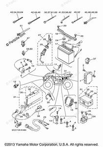 Yamaha Atv 2006 Oem Parts Diagram For Electrical