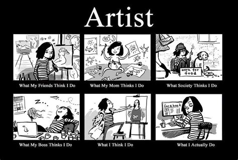 Artist Meme - 30 funny art cartoons memes images and art quotes