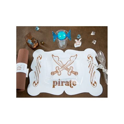 set de table mariage bleu set de table pirate bleu ciel les 6
