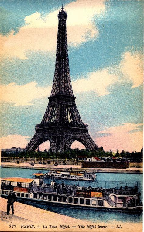 antique paris image eiffel tower  graphics fairy