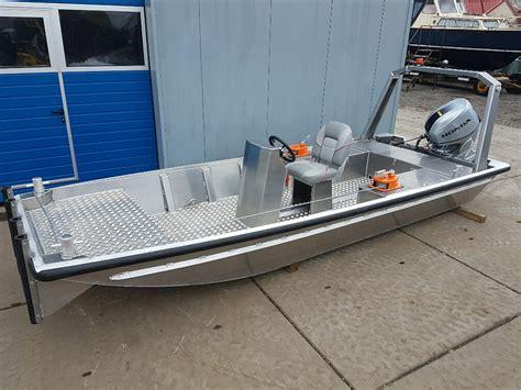 Boot Platbodem by Aluminum Platbodem Hasek Trading