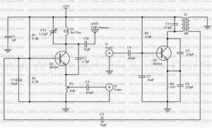 transmitter circuit page 3 rf circuits nextgr With vhf audio video transmitter