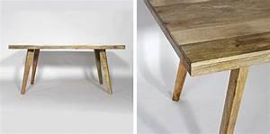 Table 14 Personnes : table bois en clair pour une d co scandinave ~ Teatrodelosmanantiales.com Idées de Décoration