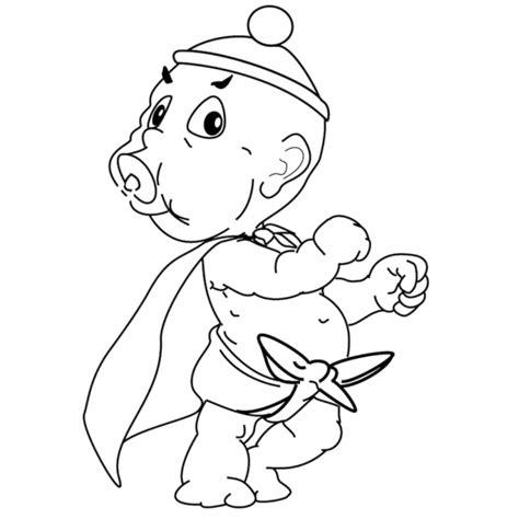 disegni per neonati da colorare disegno di neonato supereroe da colorare per bambini