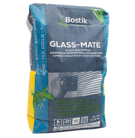Thinset For Glass Tile by Bostik Glass Mate Thinset Tilebar