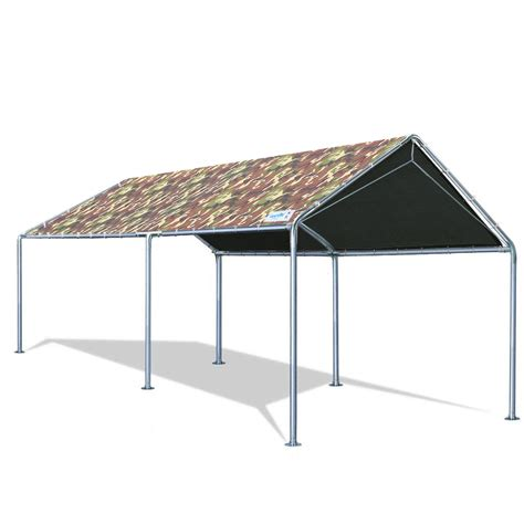 quictent xft upgraded heavy duty carport car canopy party tent  reinforced steel cables